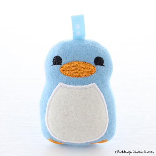 Pinguin Peter ITH Stickdatei