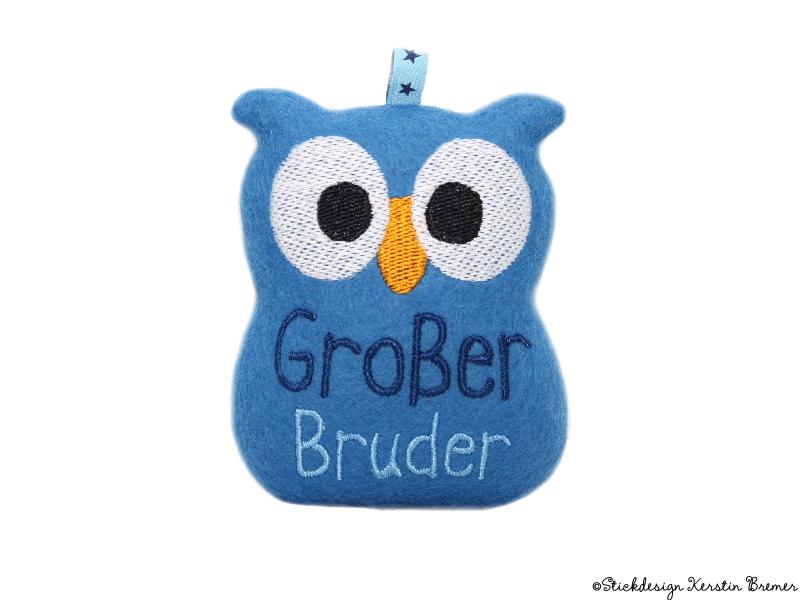 Großer Bruder Eule ITH - KerstinBremer.de