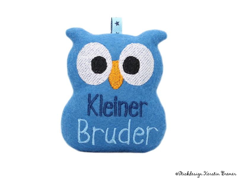 Kleiner Bruder Eule ITH - KerstinBremer.de