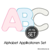 ABC Applikationen Stickdateien Set
