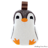 Pinguin Belle ITH Stickdatei
