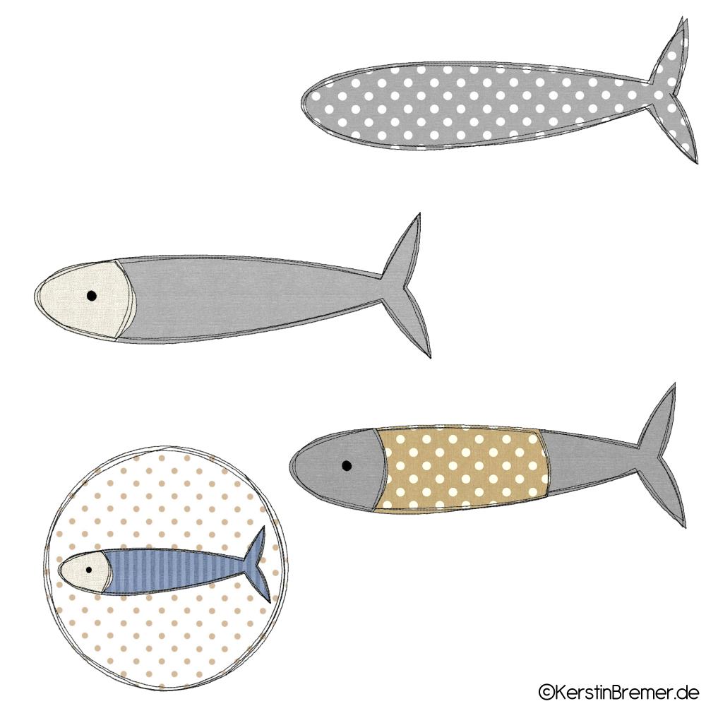 Atemberaubend Fisch Schnittmuster Zeitgenössisch - Strickmuster ...