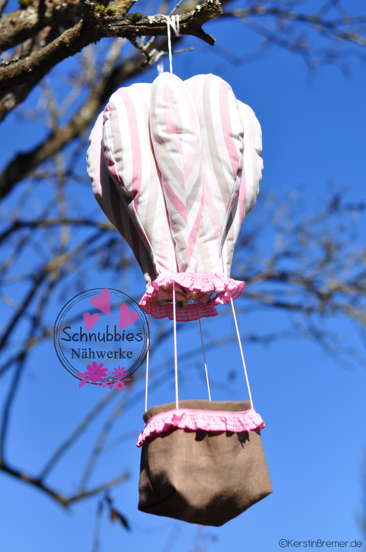 Ebook / Schnittmuster Heißluftballon - KerstinBremer.de