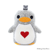 Herz Pinguin Peter ITH Stickdatei