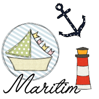 Maritime Doodle Stickmuster