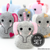 Elefant ITH Stickdateien Set